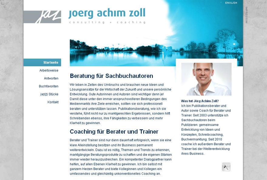 Jörg Achim Zoll